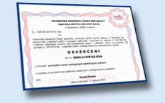 Certifikáty Revisní technik Kamil Pašek Kozolupy